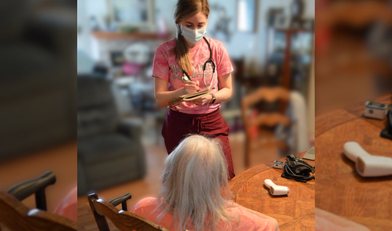 a caregiver listing the needs of the elderly